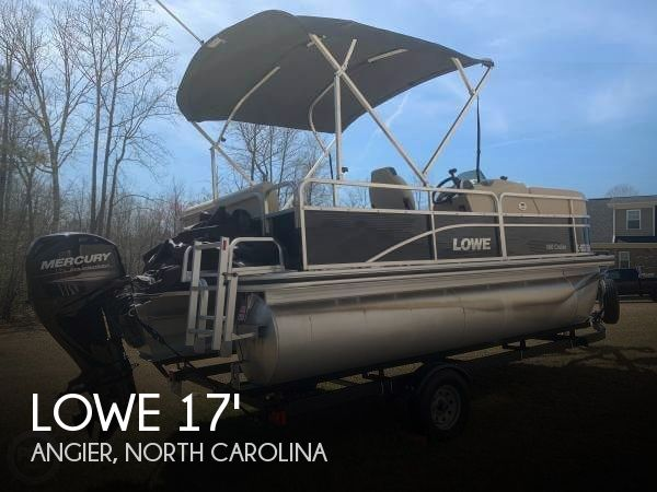 Used Lowe Pontoon Boats For Sale by owner | 2017 Lowe 17