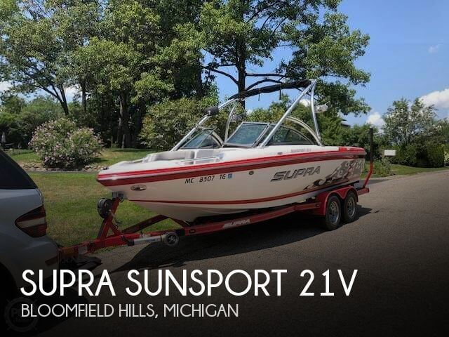 Used Ski Boats For Sale in Michigan by owner | 2010 Supra 21