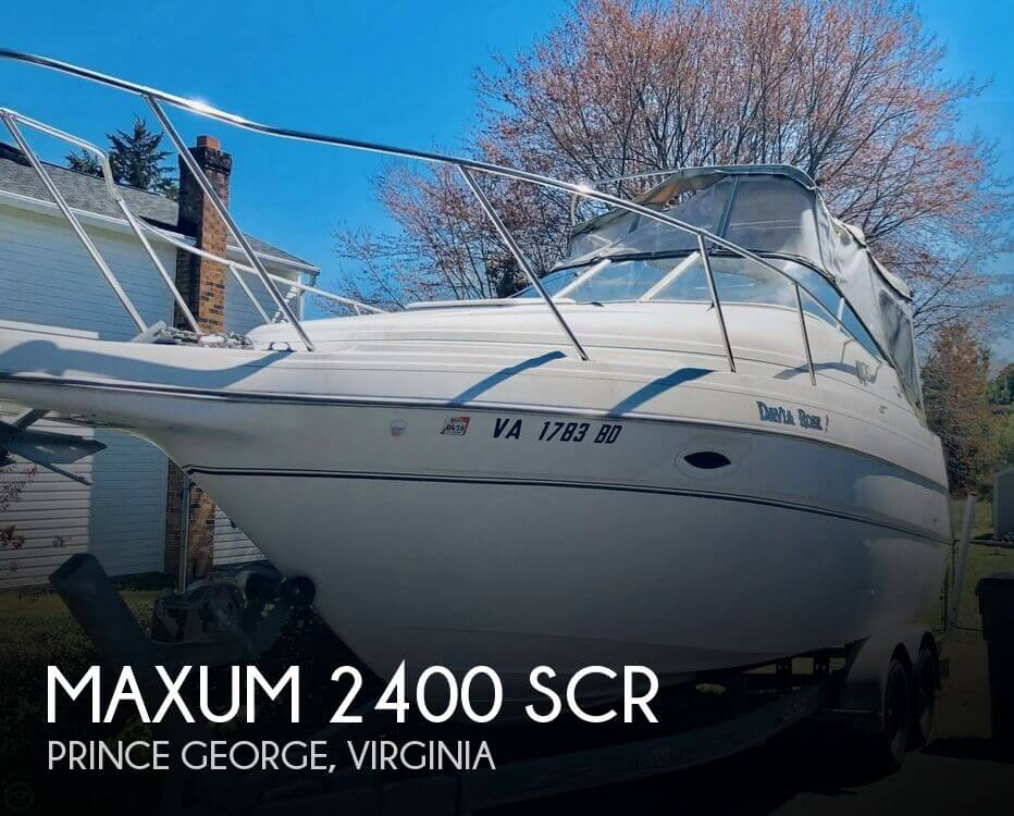 Used Maxum 25 Boats For Sale by owner | 2003 Maxum 25