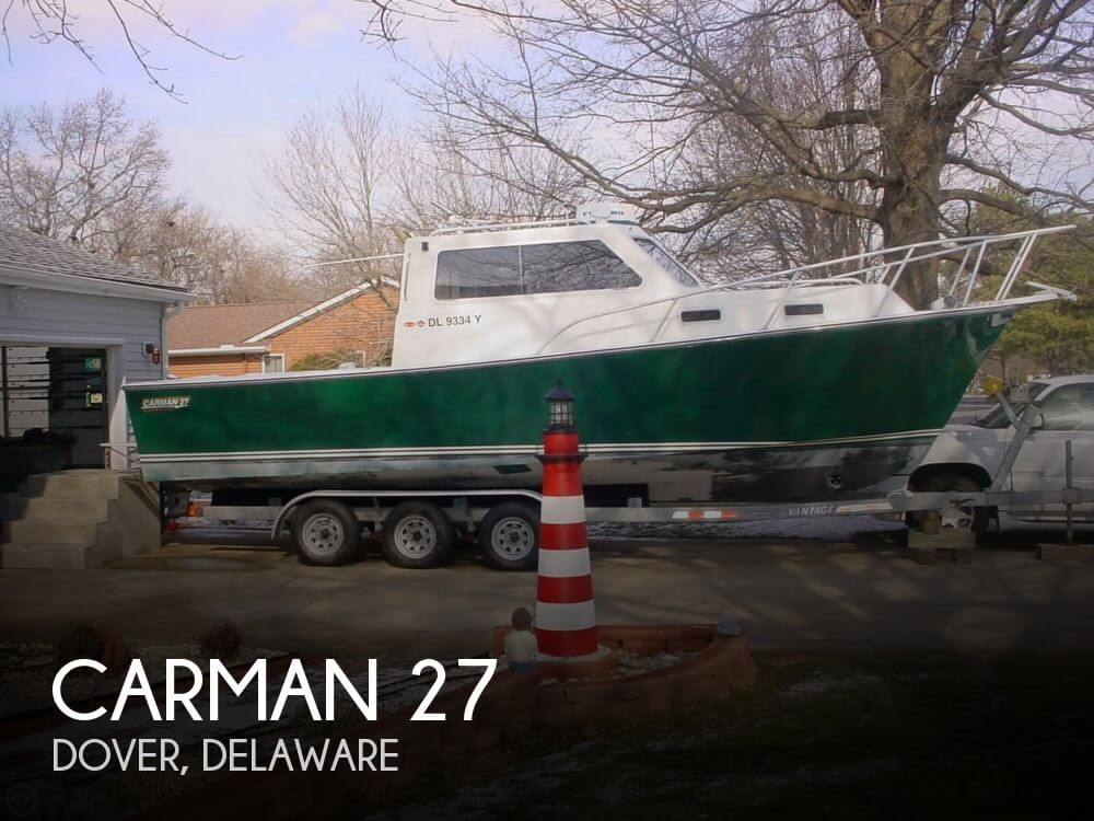 Used Boats For Sale in Atlantic City, New Jersey by owner | 2004 Carman 27
