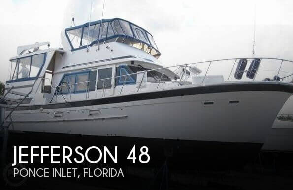 Used Boats For Sale in Deltona, Florida by owner | 1990 Jefferson 48