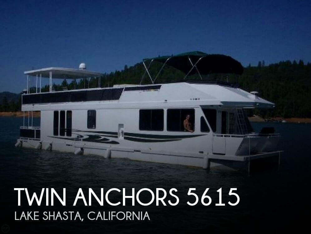 Used Houseboats For Sale by owner | 2002 Twin Anchors 56