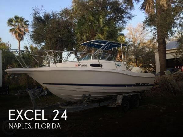 Used Excel Boats For Sale by owner | 1995 Excel 24