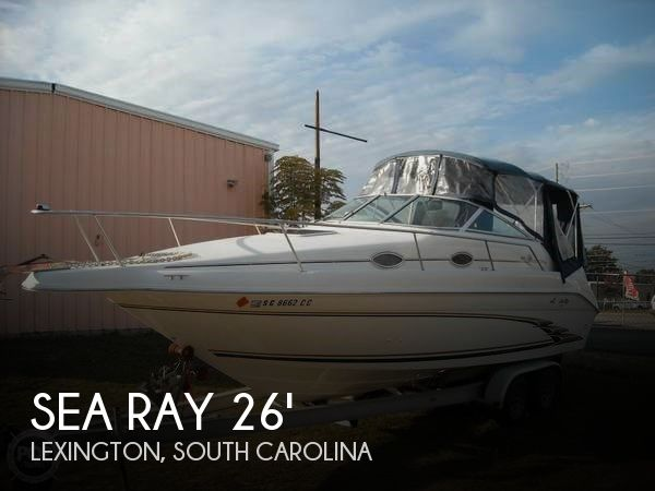 Used Sea Ray Power boats For Sale in Columbia, South Carolina by owner | 1998 Sea Ray 26
