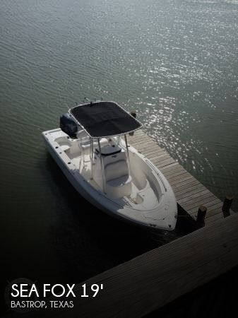 Used Sea Fox Boats For Sale by owner | 2013 Sea Fox 19