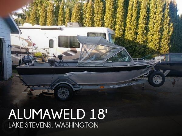 Used Alumacraft Boats For Sale in Washington by owner | 2002 Alumaweld 18