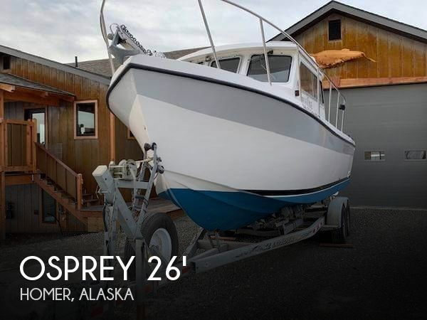 Used Boats For Sale in Alaska by owner   2003 Osprey 26