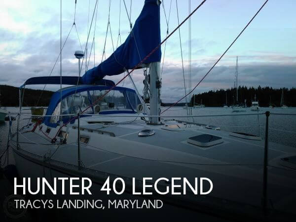 Used Hunter Boats For Sale in Maryland by owner   1987 Hunter 39