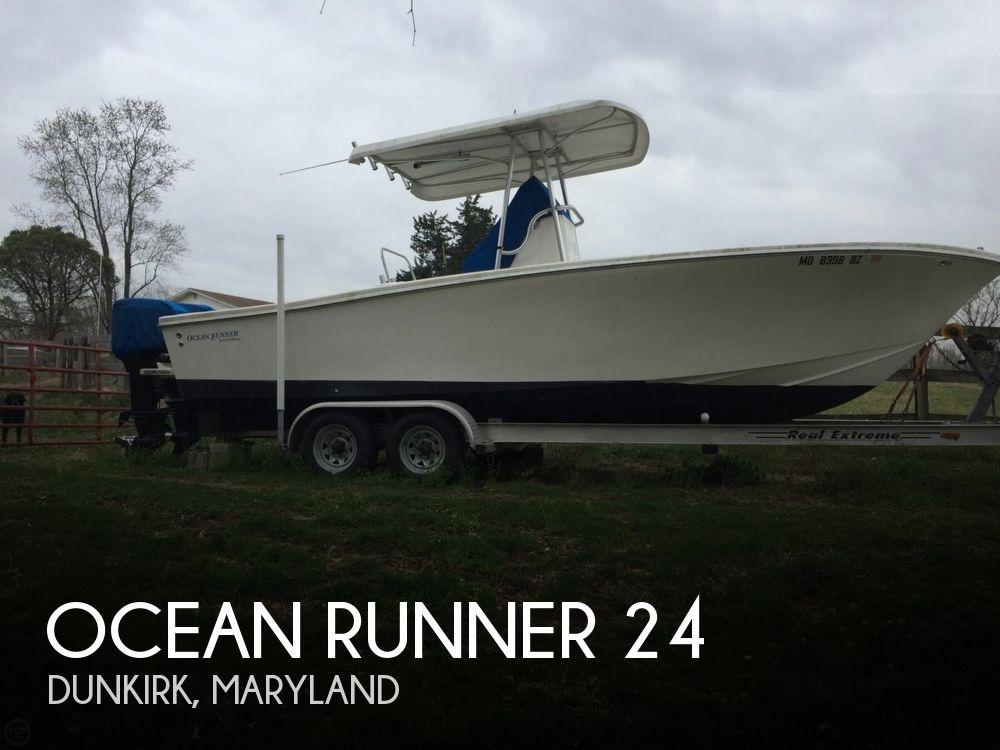 Used Ocean Runner Boats For Sale by owner | 2004 Ocean Runner 24