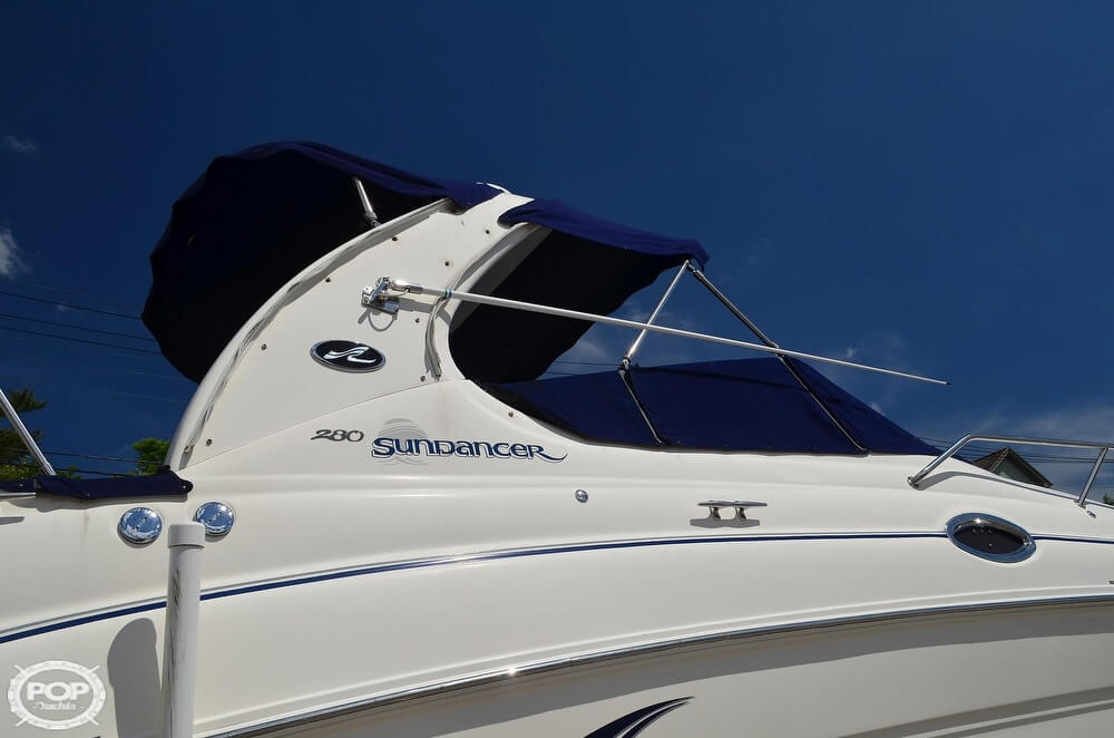 2004 Sea Ray boat for sale, model of the boat is 280 Sundancer & Image # 27 of 40