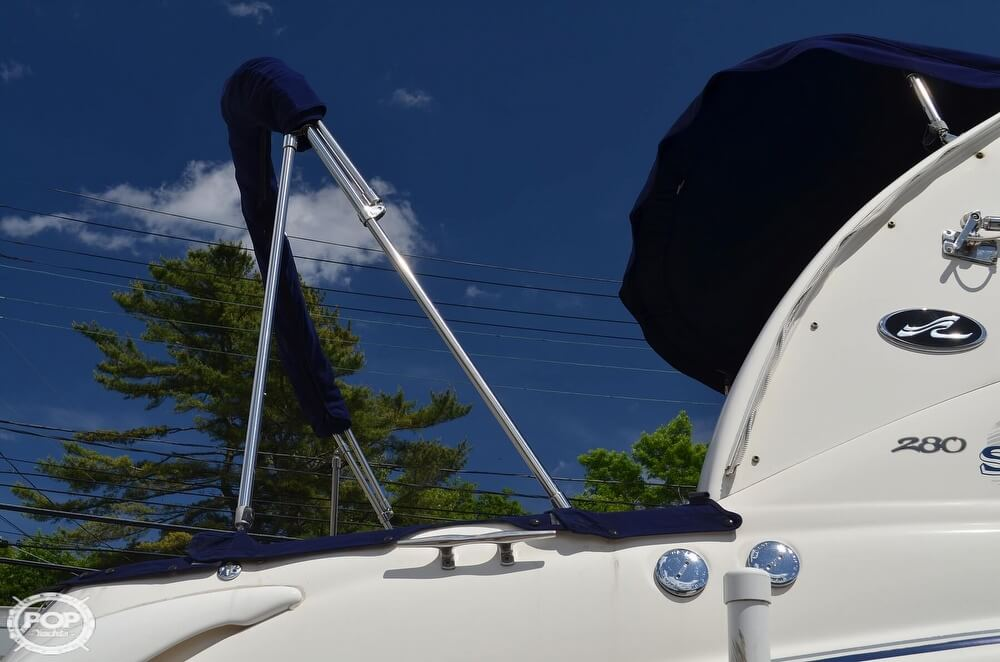 2004 Sea Ray boat for sale, model of the boat is 280 Sundancer & Image # 28 of 40