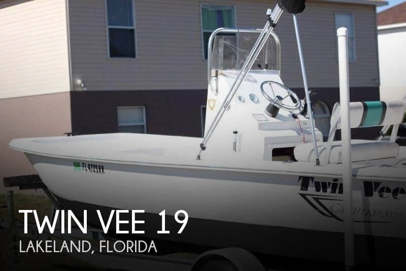 Used Twin Vee Boats For Sale by owner | 2014 Twin Vee 19
