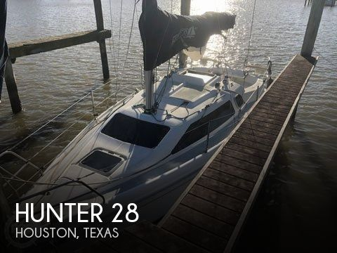 Used Hunter Sailboats For Sale in Texas by owner | 1996 Hunter 28