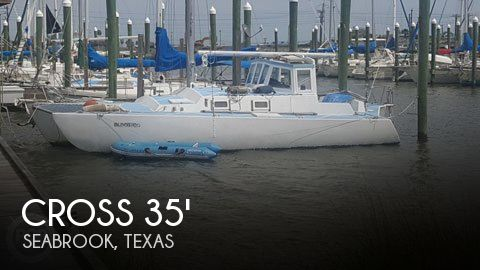 Used Sailboats For Sale in Texas by owner | 1984 Cross 35