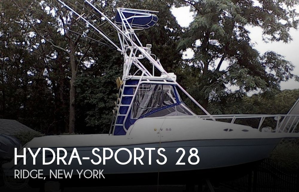 1992 Hydra-Sports 28 Sportsfisherman WA