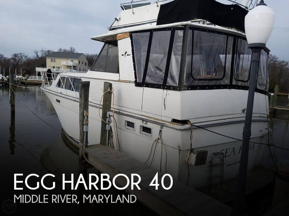 Used Egg Harbor Boats For Sale by owner | 1982 Egg Harbor 40