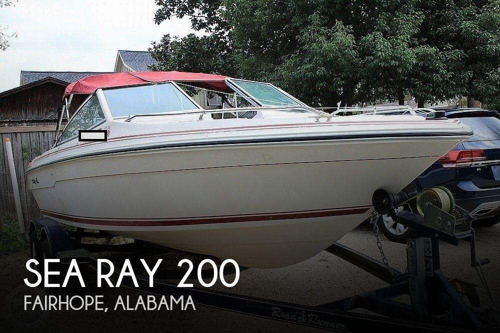 1989 Sea Ray 200 Bowrider