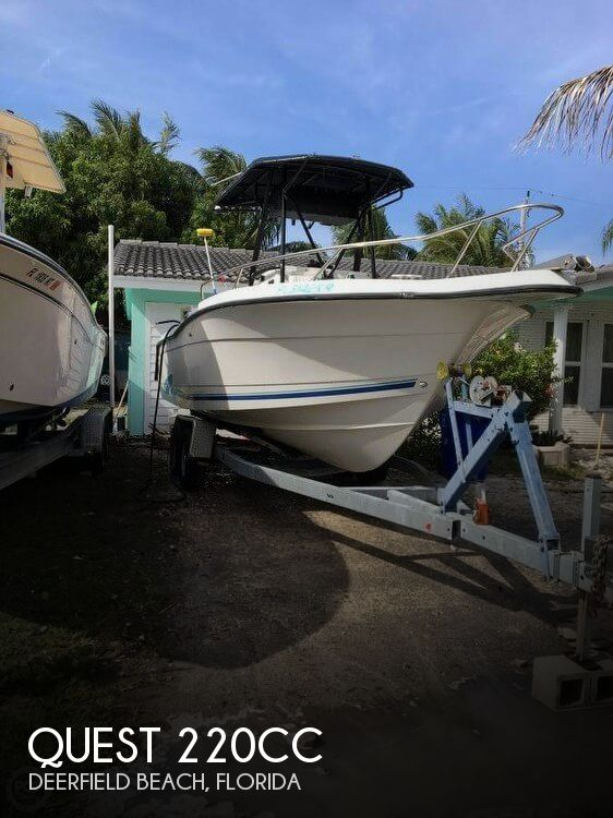 Used Quest Boats For Sale by owner | 1995 Quest 22