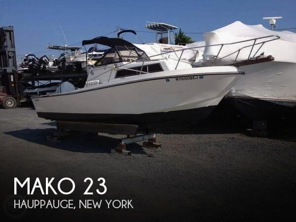 Used Boats For Sale in Bridgeport, Connecticut by owner | 1980 Mako 23