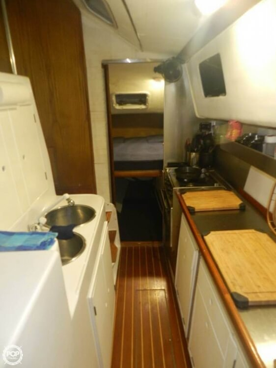 1993 PDQ Yachts boat for sale, model of the boat is 36 Capella & Image # 12 of 40