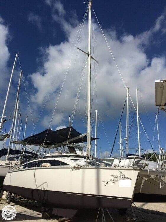 1993 PDQ Yachts boat for sale, model of the boat is 36 Capella & Image # 2 of 40