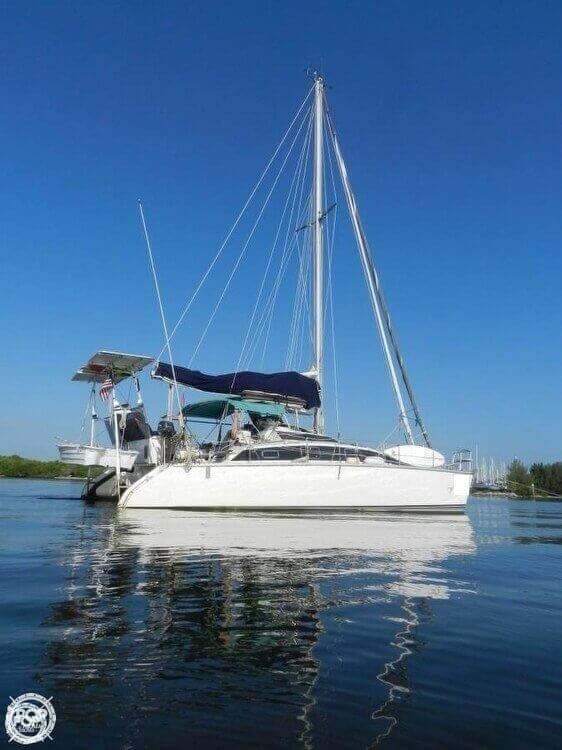 1993 PDQ Yachts boat for sale, model of the boat is 36 Capella & Image # 4 of 40