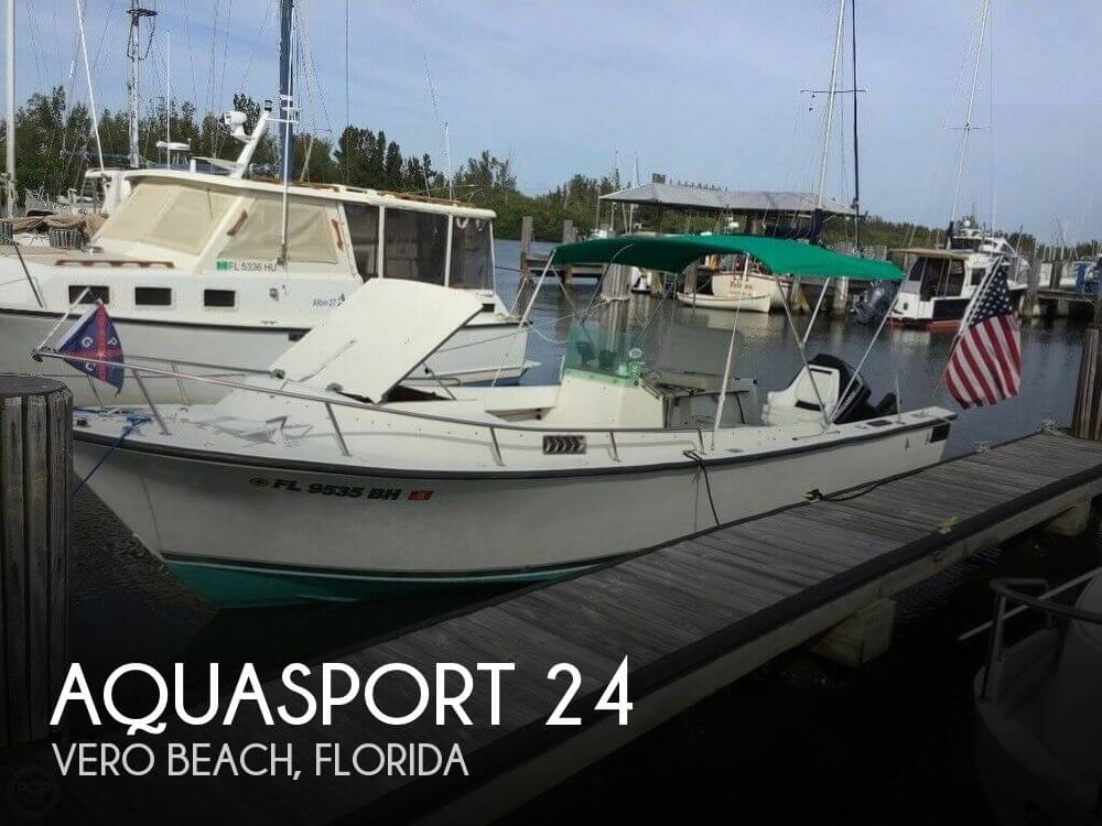 Used Power boats For Sale by owner | 1974 Aquasport 24