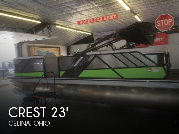 Used Boats For Sale in Fort Wayne, Indiana by owner | 2016 Crest 23