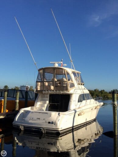 Sea Ray 480 Sedan Bridge, 48', for sale - $220,000