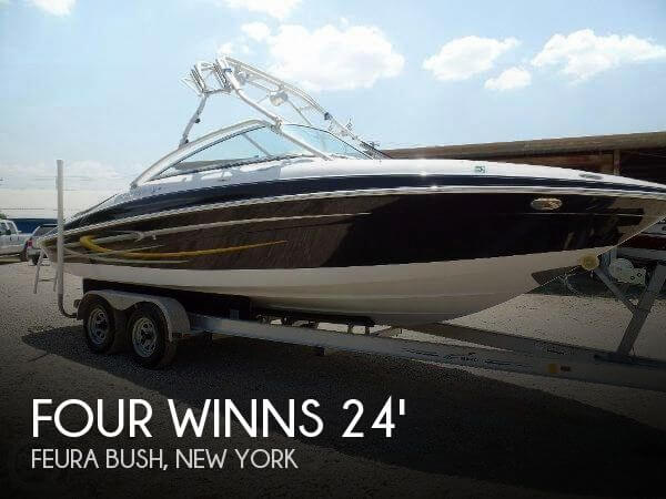Used Boats For Sale in Albany, New York by owner | 2006 Four Winns 24