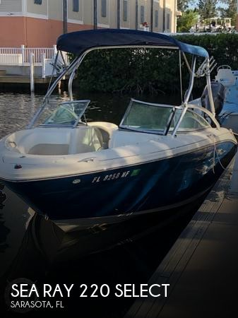Used Sea Ray 220 Select Boats For Sale by owner | 2006 Sea Ray 220 Select