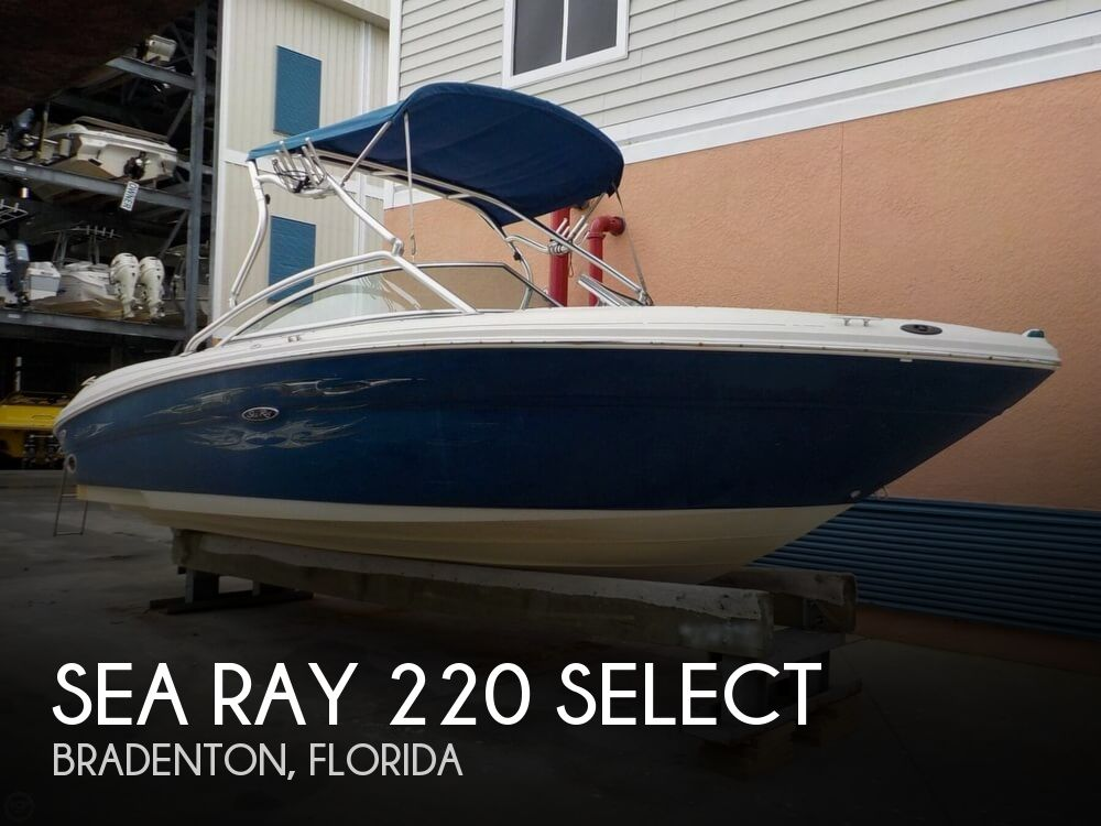 2006 Sea Ray boat for sale, model of the boat is 220 Select & Image # 1 of 40