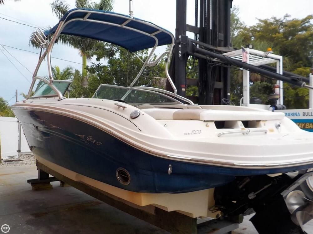 2006 Sea Ray boat for sale, model of the boat is 220 Select & Image # 20 of 40