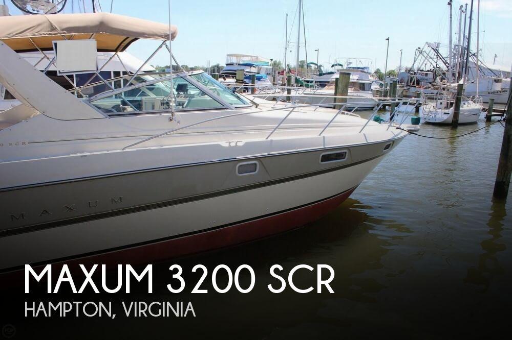 1995 Maxum 3200 SCR