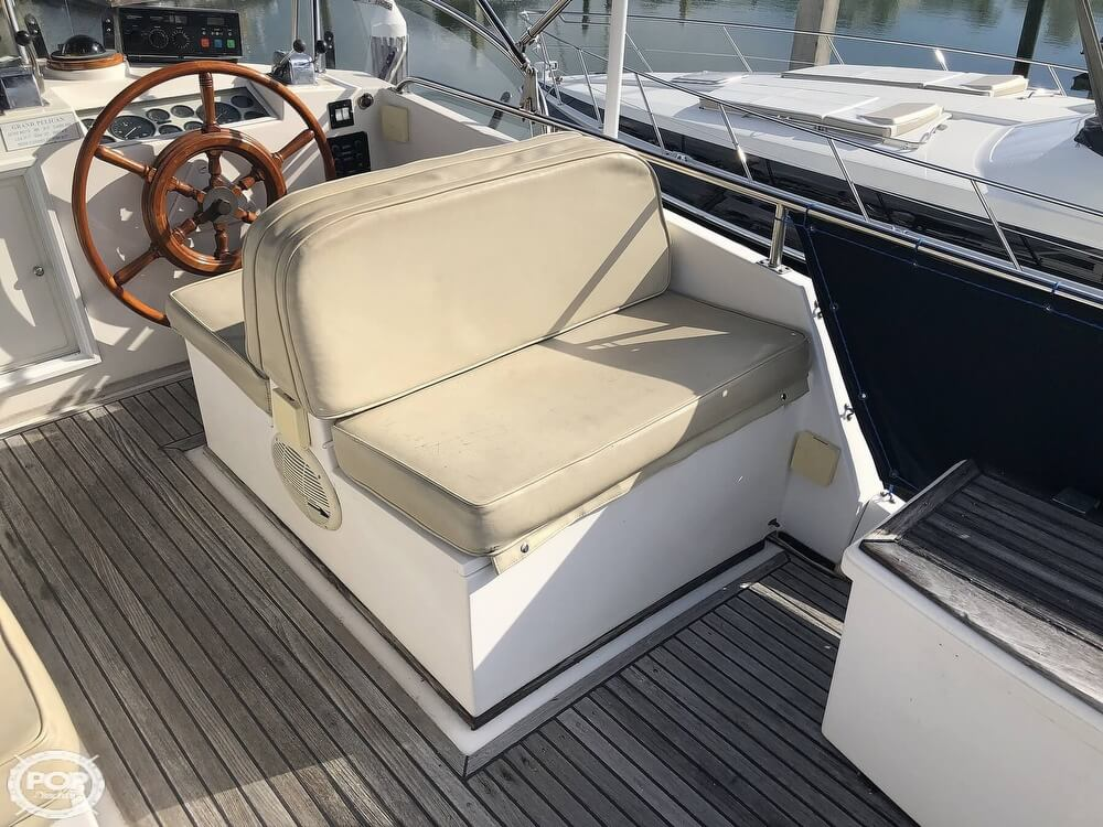 1989 Grand Banks boat for sale, model of the boat is 36 & Image # 36 of 40