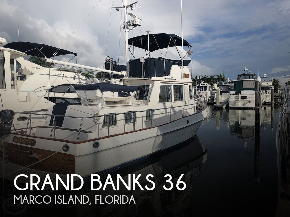 Used GRAND BANKS Boats For Sale by owner | 1989 Grand Banks 36