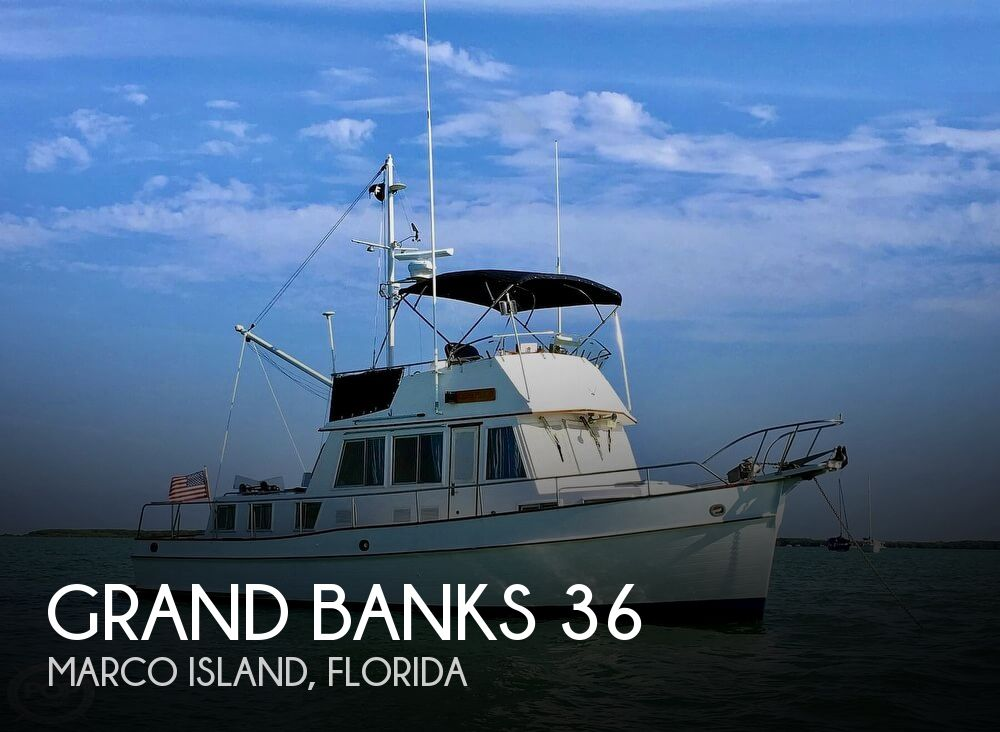 1989 Grand Banks boat for sale, model of the boat is 36 & Image # 1 of 40