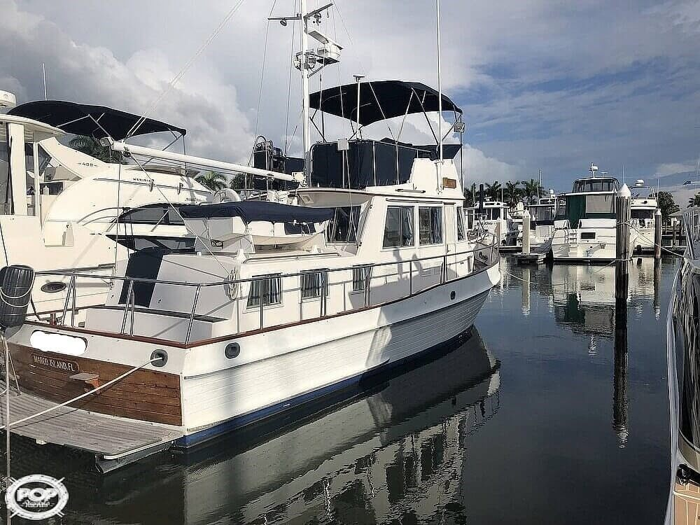 1989 Grand Banks boat for sale, model of the boat is 36 & Image # 2 of 40