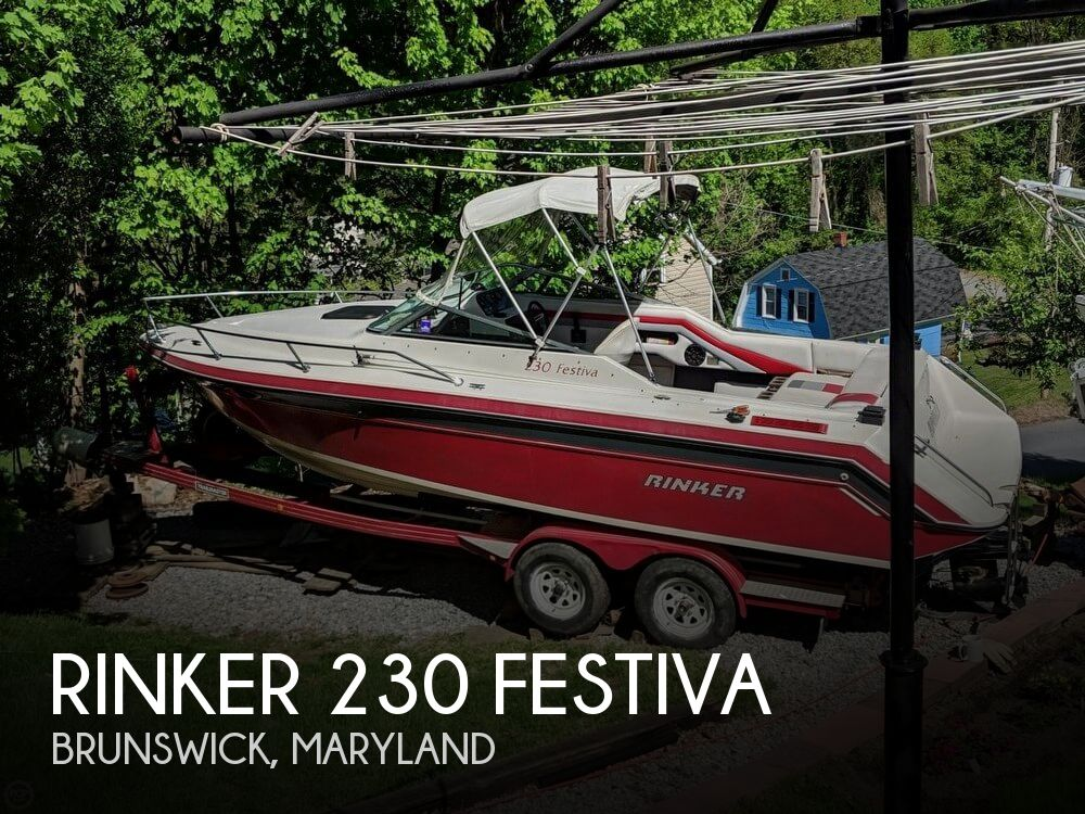 1990 Rinker boat for sale, model of the boat is 230 Festiva & Image # 1 of 40