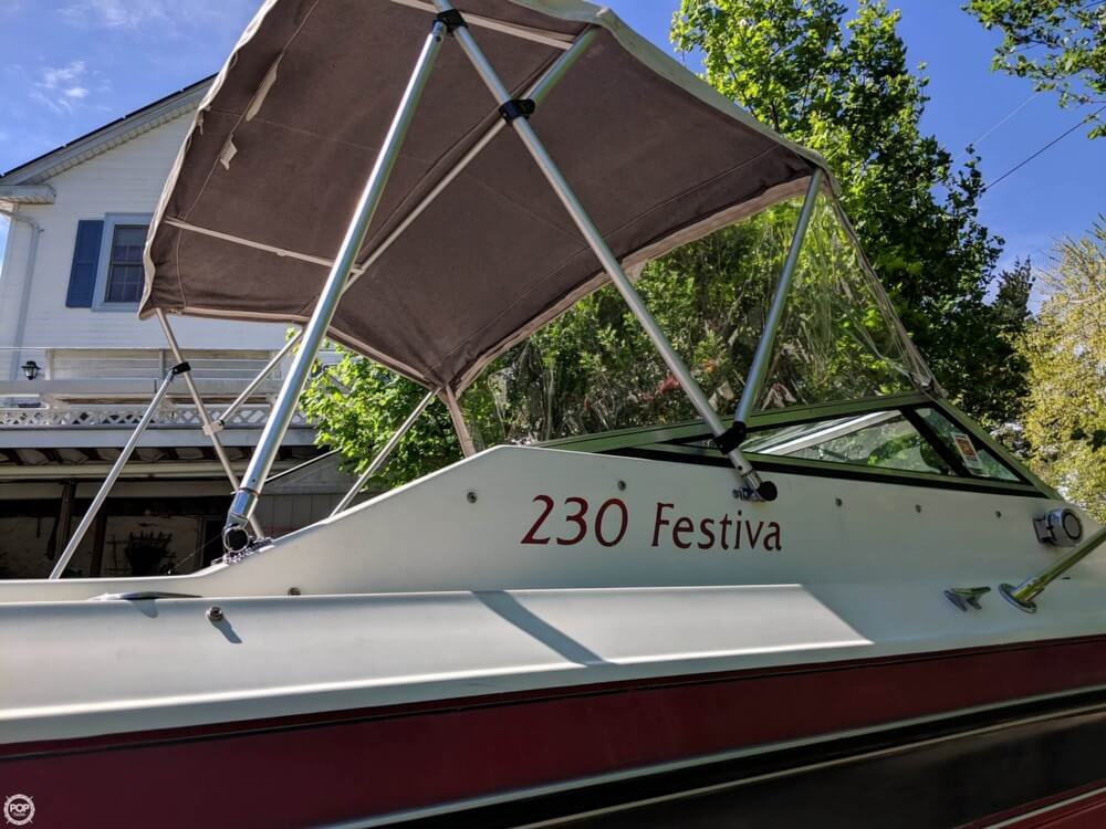 1990 Rinker boat for sale, model of the boat is 230 Festiva & Image # 2 of 40