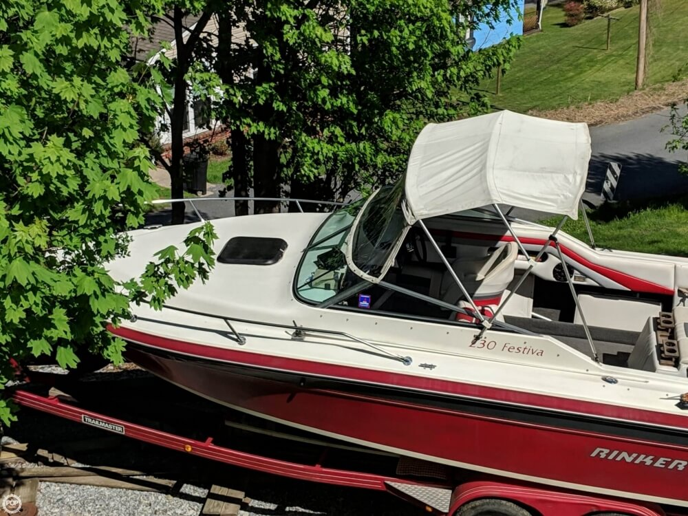 1990 Rinker boat for sale, model of the boat is 230 Festiva & Image # 11 of 40