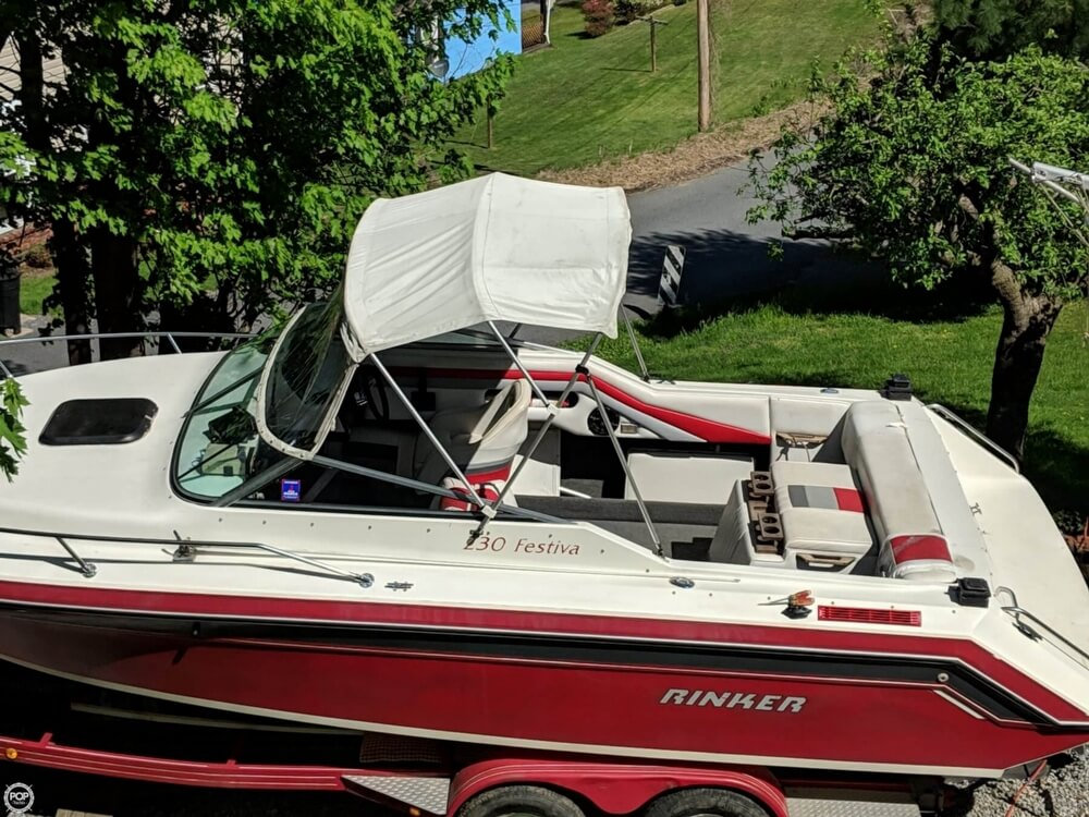 1990 Rinker boat for sale, model of the boat is 230 Festiva & Image # 12 of 40