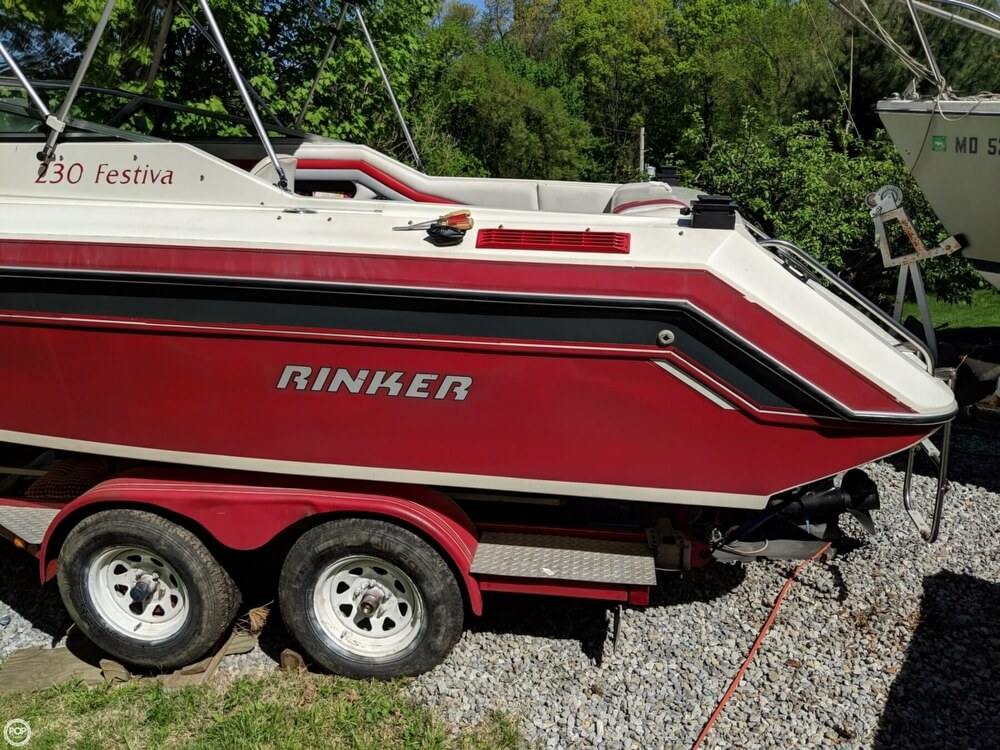 1990 Rinker boat for sale, model of the boat is 230 Festiva & Image # 17 of 40