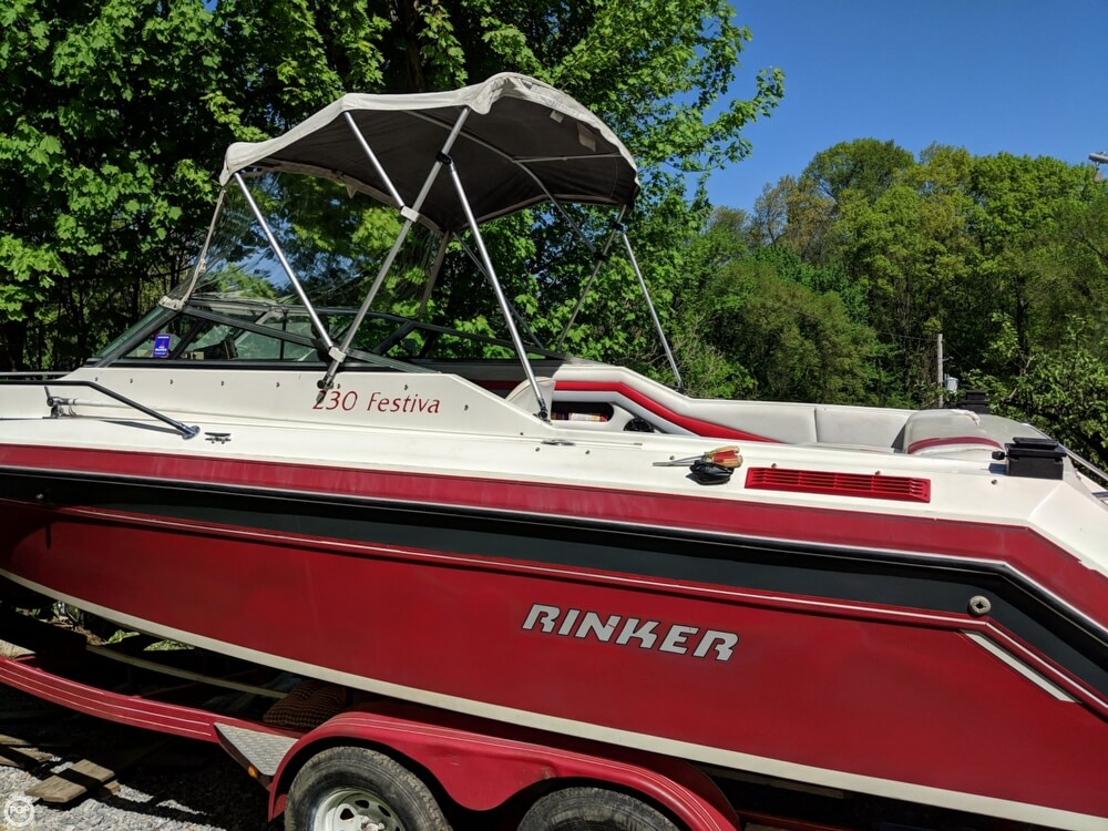 1990 Rinker boat for sale, model of the boat is 230 Festiva & Image # 18 of 40