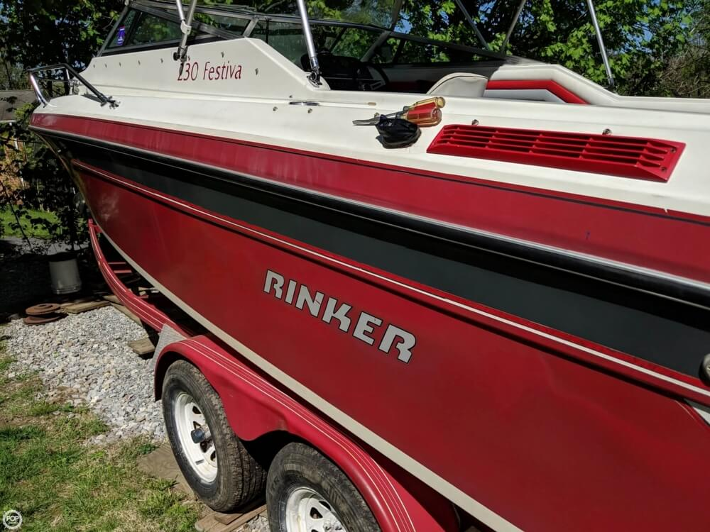 1990 Rinker boat for sale, model of the boat is 230 Festiva & Image # 19 of 40