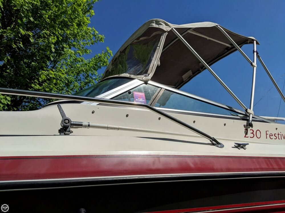 1990 Rinker boat for sale, model of the boat is 230 Festiva & Image # 20 of 40