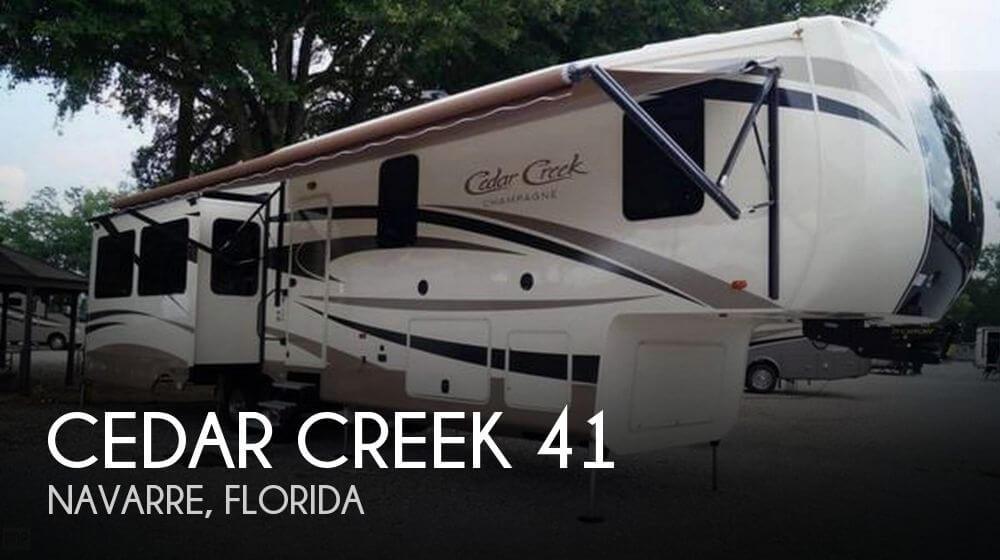 2017 Forest River Cedar Creek 41