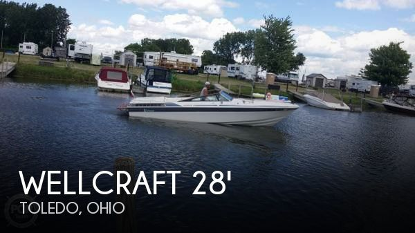 1989 Wellcraft boat for sale, model of the boat is 26 Nova II & Image # 1 of 34