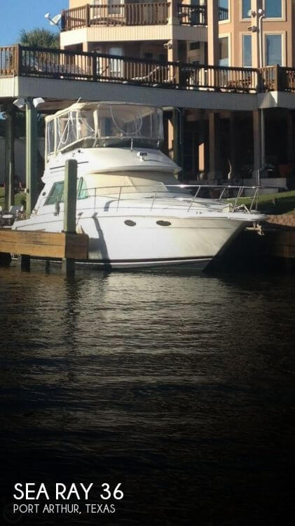 Used Sea Ray Boats For Sale in Texas by owner | 1996 Sea Ray 36