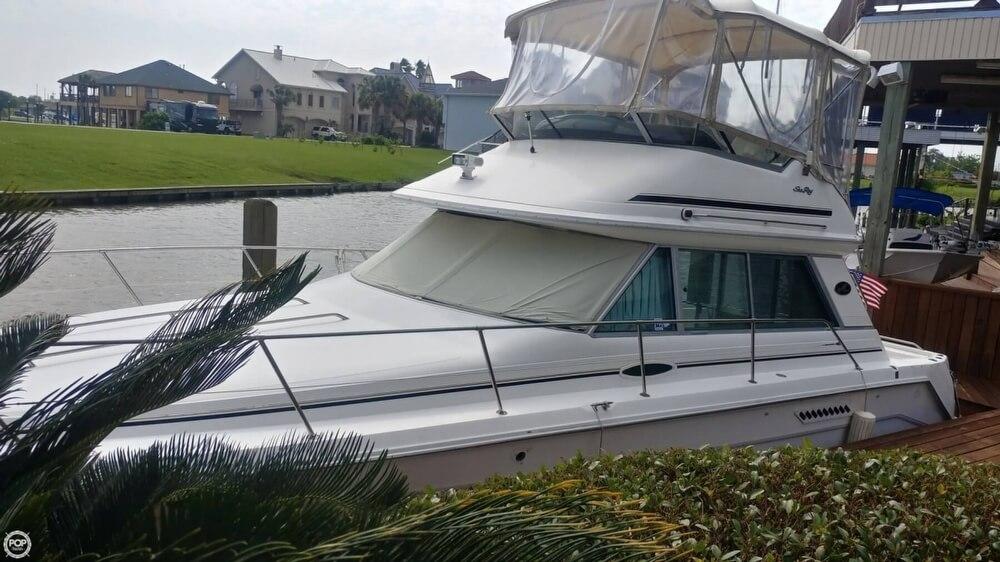 1996 Sea Ray boat for sale, model of the boat is 370 Sedan Bridge & Image # 3 of 40